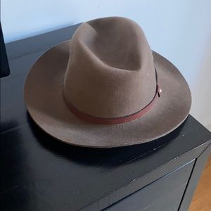Rag & Bone floppy brim fedora worn once